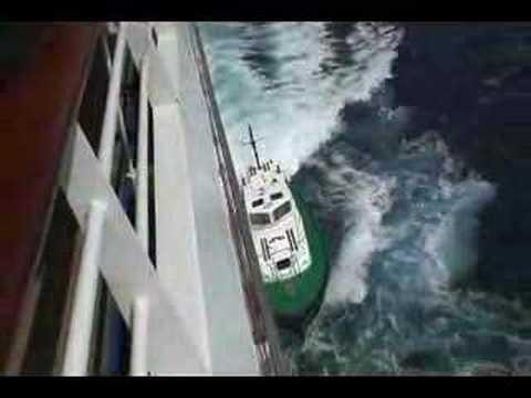 Aruba harbour pilot boat