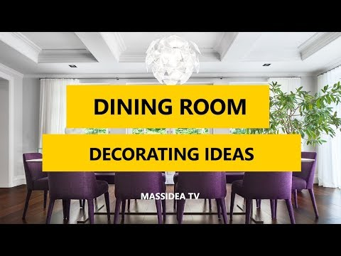 45+ Best Dining Room Decorating Ideas and Pictures 2017