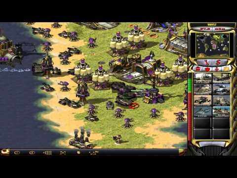 C&C Red Alert 2 Yuris Revenge Challenge Map 7 Irwe's World War III