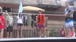 BSB Cruise 2013 -Beach Party Limbo Dance-Brian