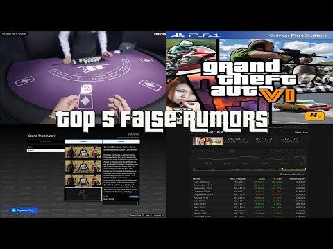 GTA Online Top 5 False Rumors That People Believe
