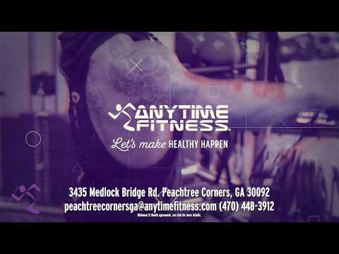 Join Now For $1 | Anytime Fitness in Peachtree Corners