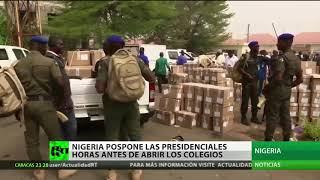 Nigeria pospone sus elecciones presidenciales al 23 de febrero