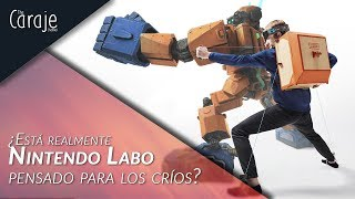 Vídeo Nintendo Labo Toy-Con 02 - Kit Robot