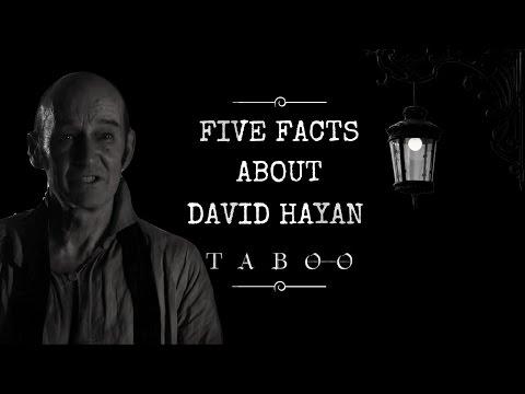 Meet the Actor: David Hayman Brace from Taboo