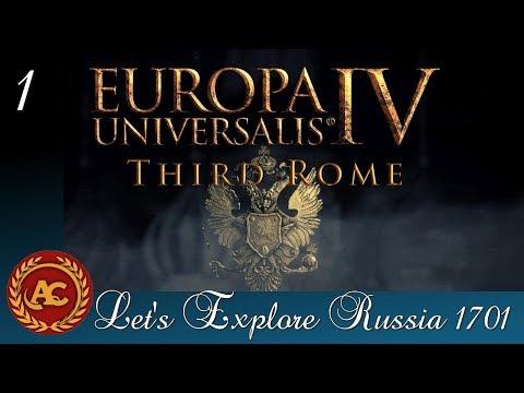 Russia #1   EU4 Third Rome Let's Explore ITA