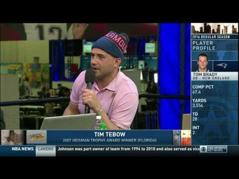 Boomer and Carton - Interview with Tim Tebow