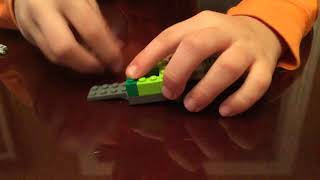 How to make a lego diesel truck