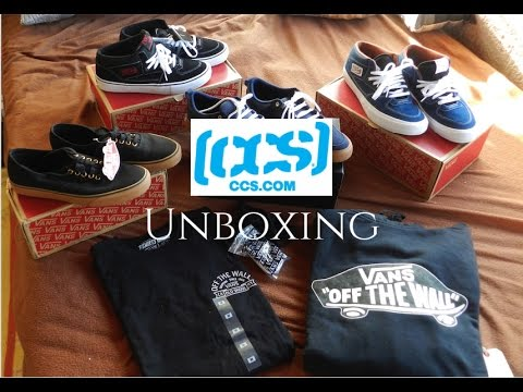 5056c55862 CCS Clothing Unboxing - Vans Authentic Half cab pro