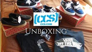 CCS Clothing Unboxing - Vans Authentic/Half cab pro , DC Lynx V Shoes + Vans apparel