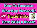How To Increase WowApp Network || Earn Money Online Using Your Mobile in Nepal