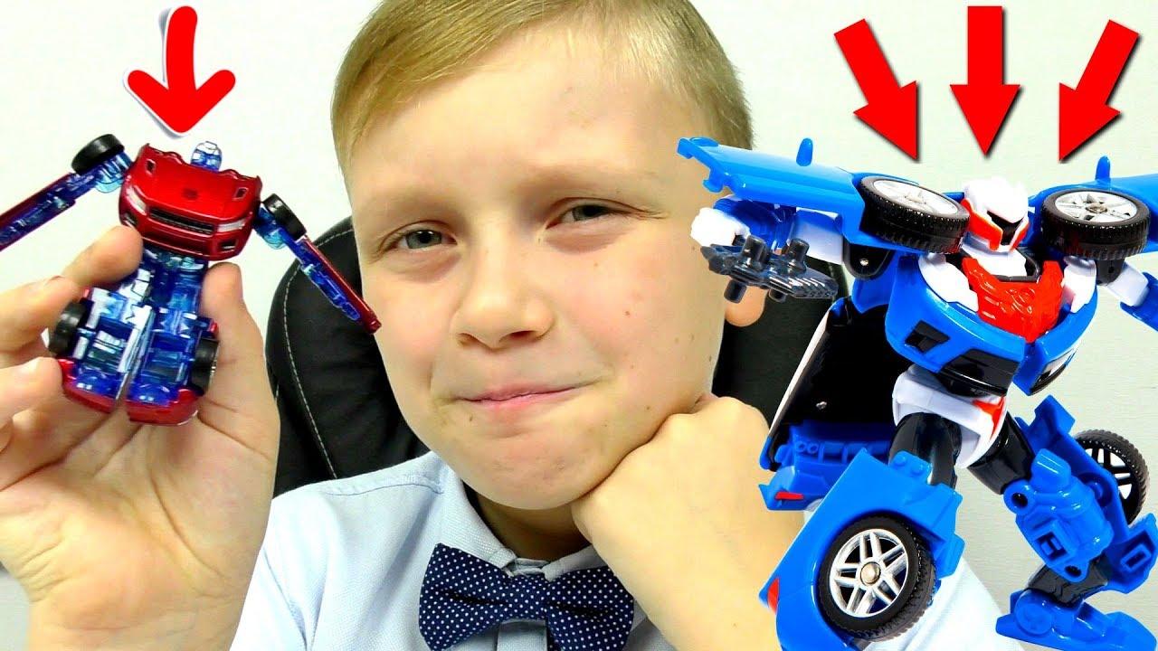 ТРАНСФОРМЕРЫ Автоботы ТОБОТЫ Машинки для мальчиков Тобот Y из Мультика для детей