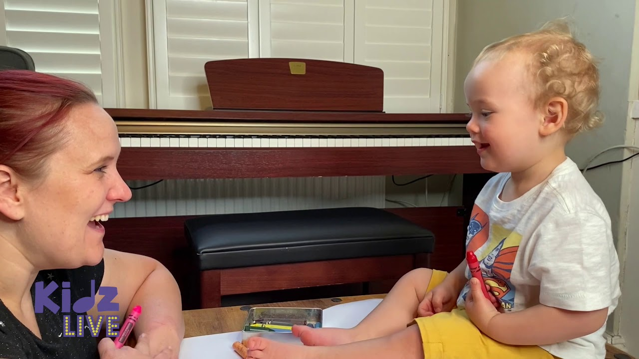 Activities For Toddlers at Home: Musical Drawing