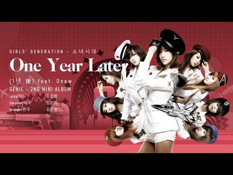 [LYRICS VIDEO] 소녀시대 (Girls` Generation) Jessica - 1년 後 (One Year Later) ft. SHINee Onew