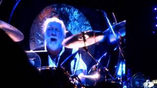 Fleetwood Mac -World Turning & Mick Fleetwood's Drum Solo (Live) Edmonton May 15, 2013