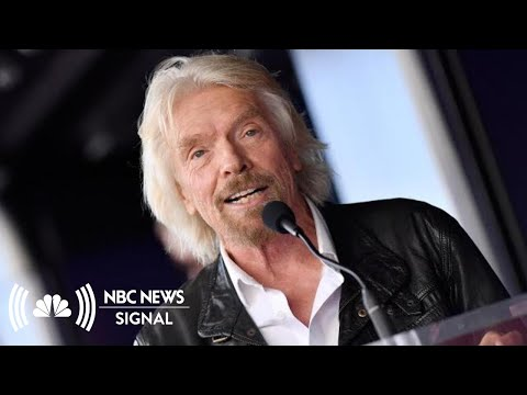 Richard Branson: 'Right Kind Of Businessman' Would Make Good President   NBC News Signal