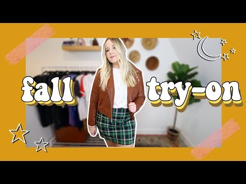 sooo i ordered more fall clothes *whoops* | midsize try on haul