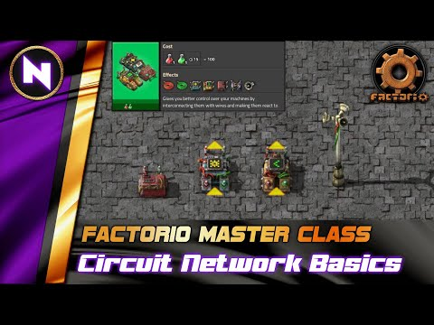 Introduction to CIRCUIT NETWORKS | Factorio Tutorial/Guide/How-to