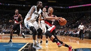 Damian Lillard Drops 34 on Minnesota