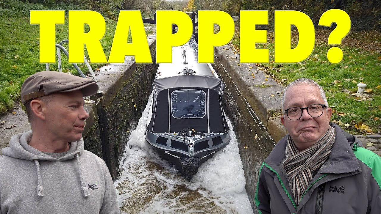 TRAPPED! Our Narrowboat journey stopped by devastating news!