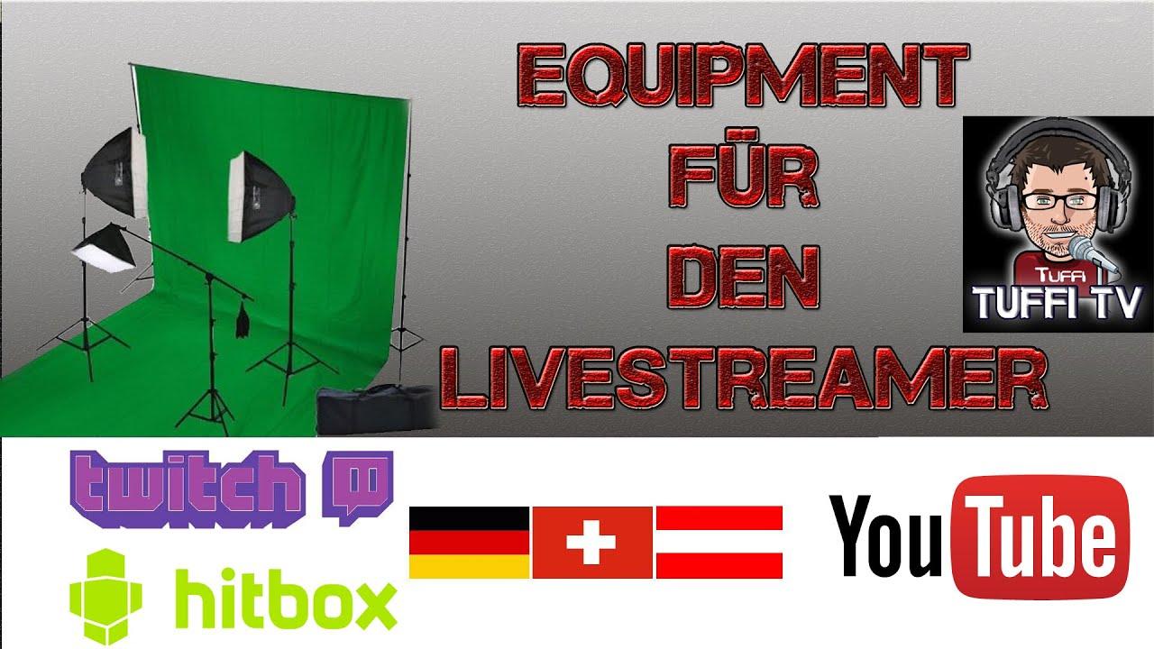 Equipment Für Livestreamer  Richtiges Licht & Beleuchtung