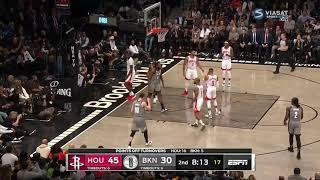 Brooklyn Nets vs Houston Rockets-November 1, 2019. 2019-20 NBA Season