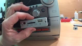 Установка аудио модуля в музыкальный центр // Аудио модуль из Китая