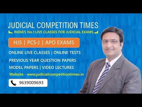 Online Coaching Classes Higher Judicial Services & Civil Judge Exams