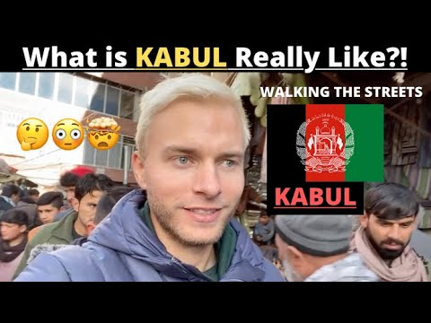 What Is KABUL Really Like? (AFGHANISTAN'S CAPITAL - walking the streets solo)
