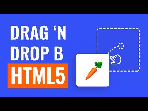Drag And Drop в HTML5