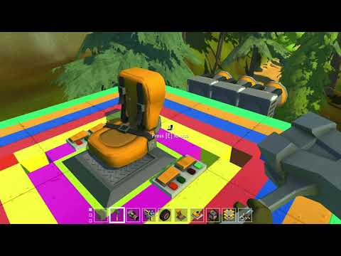 Scrap Mechanic Hovering platform