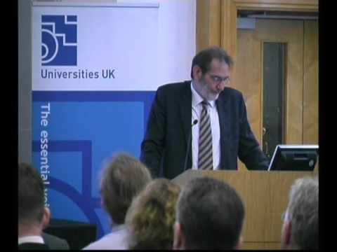 Universities UK: Professor Ian Diamond on the work Efficiency and Modernisation Task Group