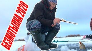 Уловистая безмотылка в действии Безмотылка на плотву Зимняя рыбалка 2020