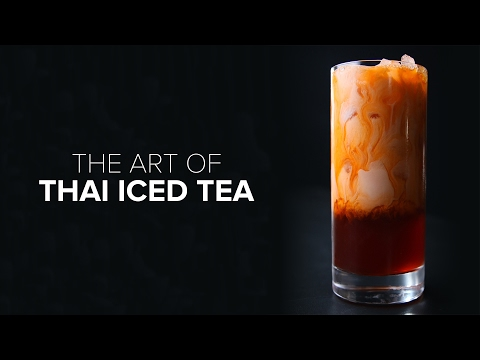 The Art Of Thai Iced Tea
