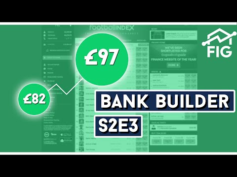 Football Index Bank Builder S2E3 | Up 20% In An In-Play Trading Special