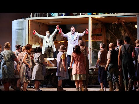 L'elisir D'amore – 'Udite, Udite O Rustici' Aria (Donizetti; Bryn Terfel, The Royal Opera)