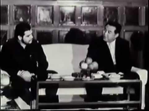 Che Guevara meets North Korean leader Kim Il-Sung (Dec.1960)