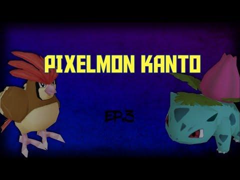 Pixelmon Kanto - Episode 3 - (Minecraft Modded)