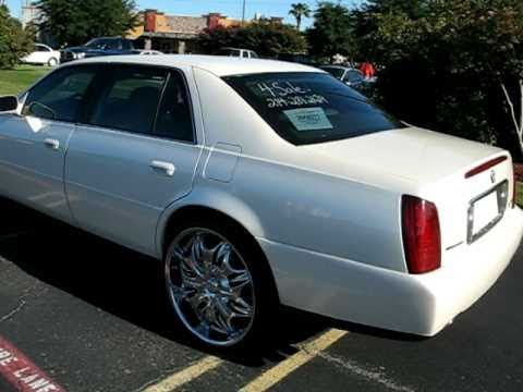 2000 Cadillac Deville With 24s Inch Rims Sold Youtube