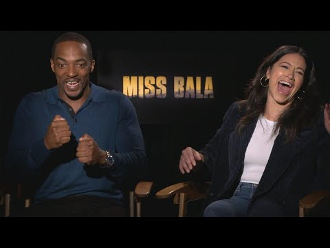 Miss Bala Prepped Gina Rodriguez for Marvel: Hear Anthony Mackie's Pitch!