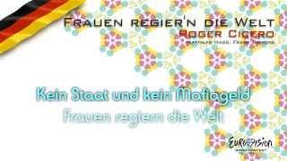 """Roger Cicero - """"Frauen Regier'n Die Welt"""" (Germany)"""