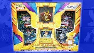 Opening a BRAND NEW Alolan Raichu Figure Collection Box of Pokemon Cards!