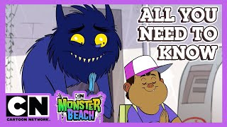Monster Beach | All You Need to Know | Cartoon Network UK