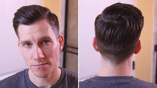 NEW HAIRCUT | Modern Undercut Side Part (Summer 2018)