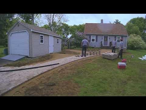 How We Build a Front Walkway