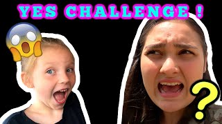 ONLY Saying YES to KAIA for 24 HOURS CHALLENGE! KAIA and SISSY. VLOG! The TOYTASTIC Sisters