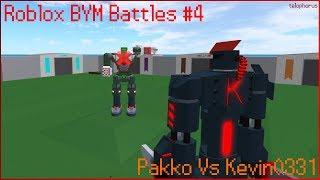 Roblox BYM Battles #4: Pakko Vs Kevin0331