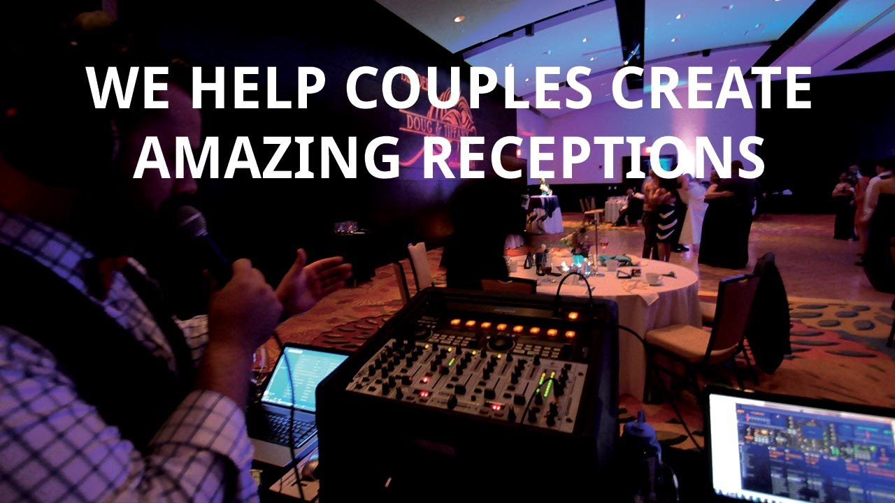 how to dj your own wedding diyreceptioncom youtube