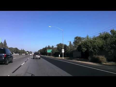 Driving around in Sacramento, CA