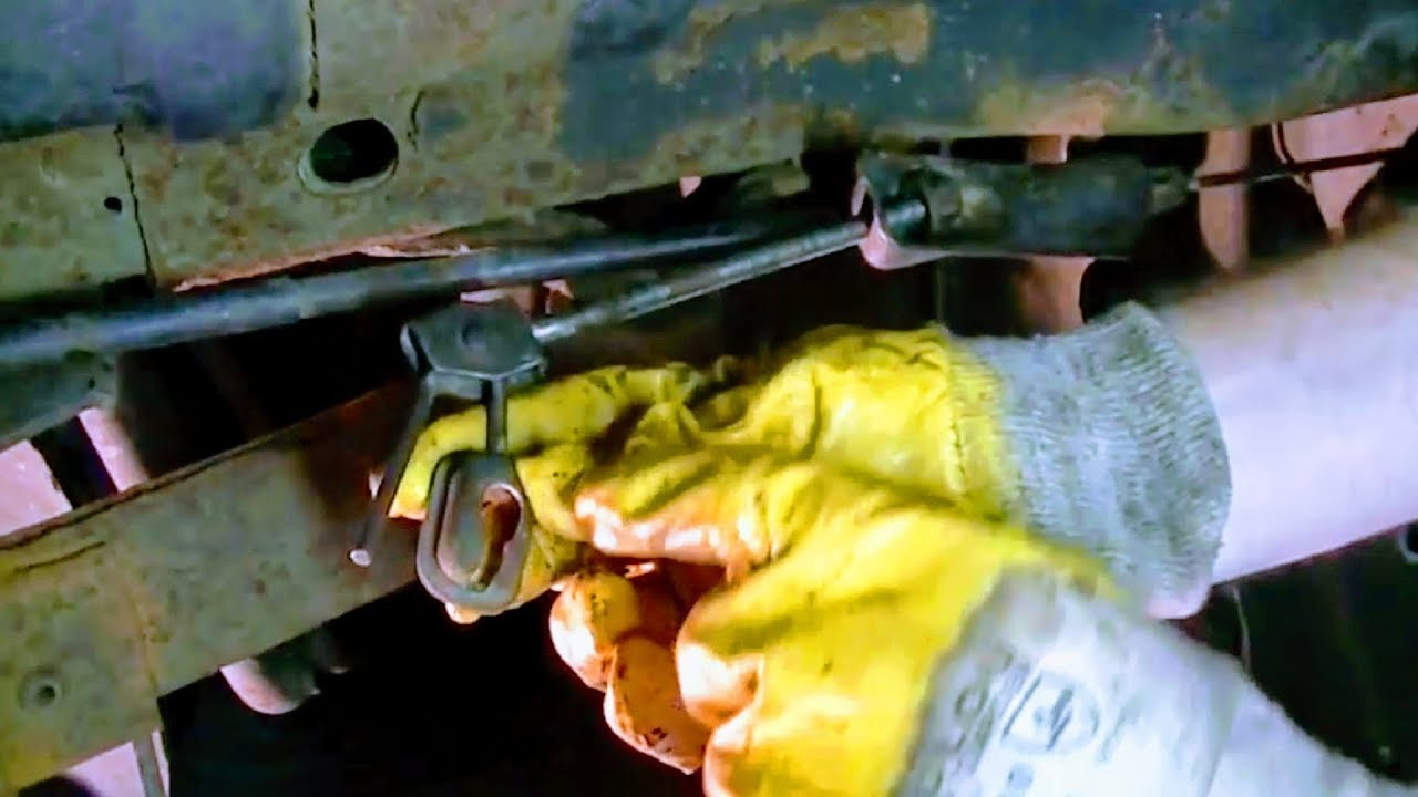 how to replace e brake cable on car truck install new parking emergency replacement auto hand repair [ 1280 x 720 Pixel ]